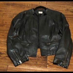 Stylish Brown Leather Lightweight Short Jacket